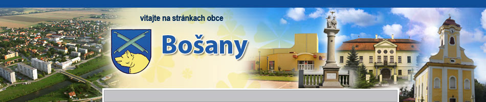 Ofici�lna str�nka obce Bo�any